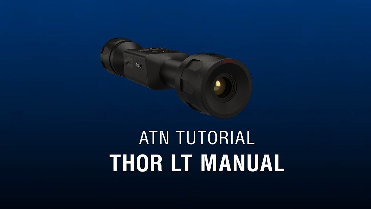 opplanet atn thor lt menu and operations how to guide video