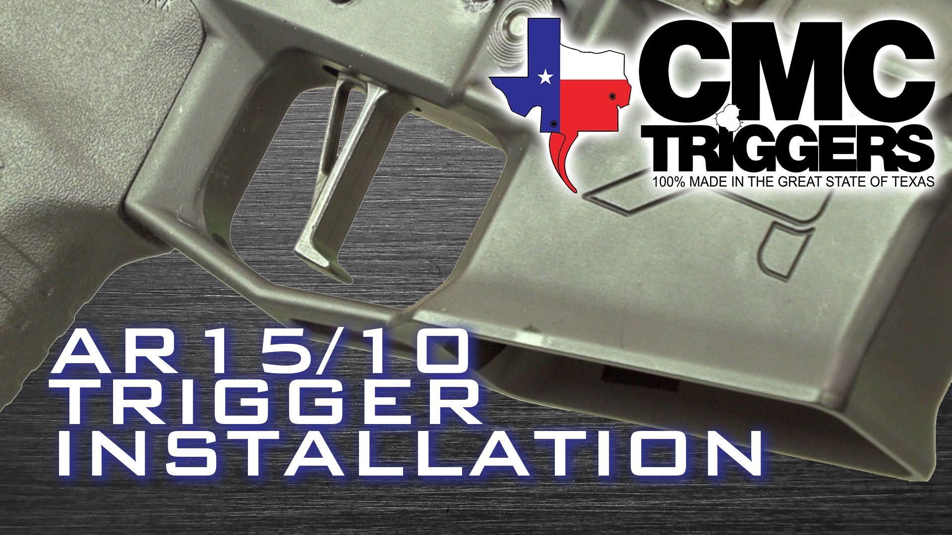 opplanet cmc triggers ar trigger installation video