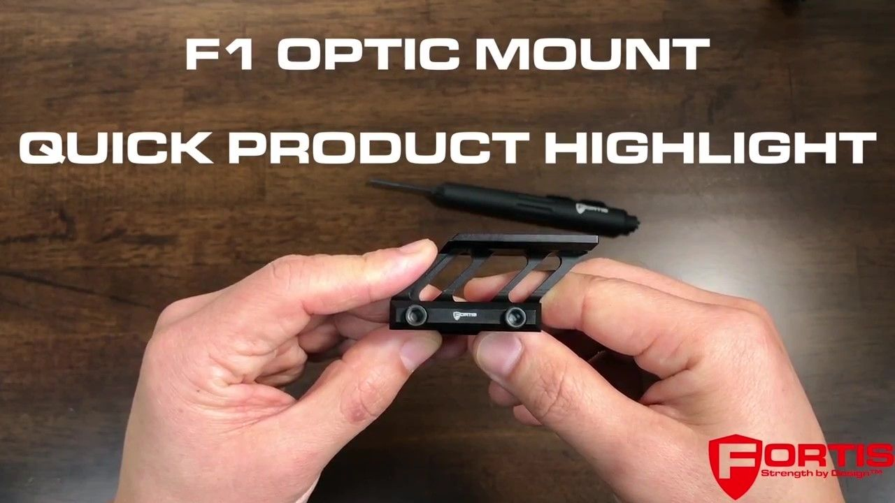 opplanet fortis f1 optic mount video