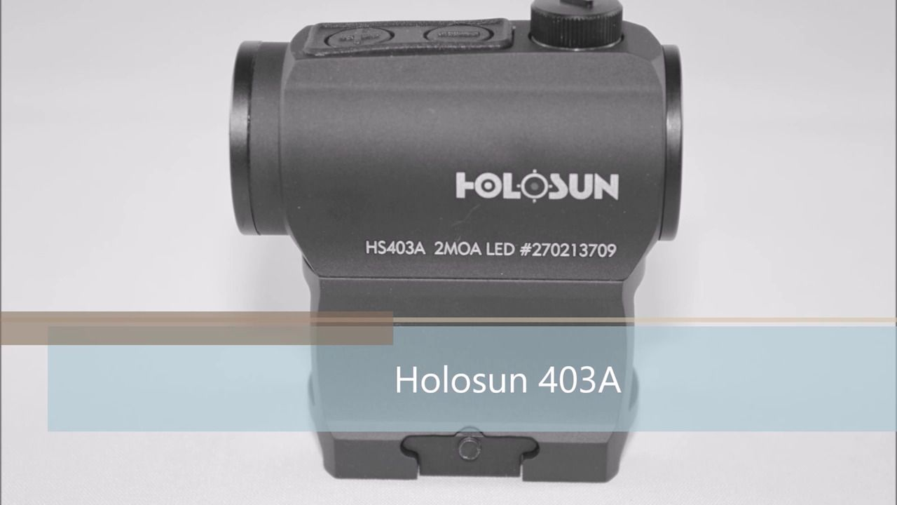 opplanet holosun 403a product video