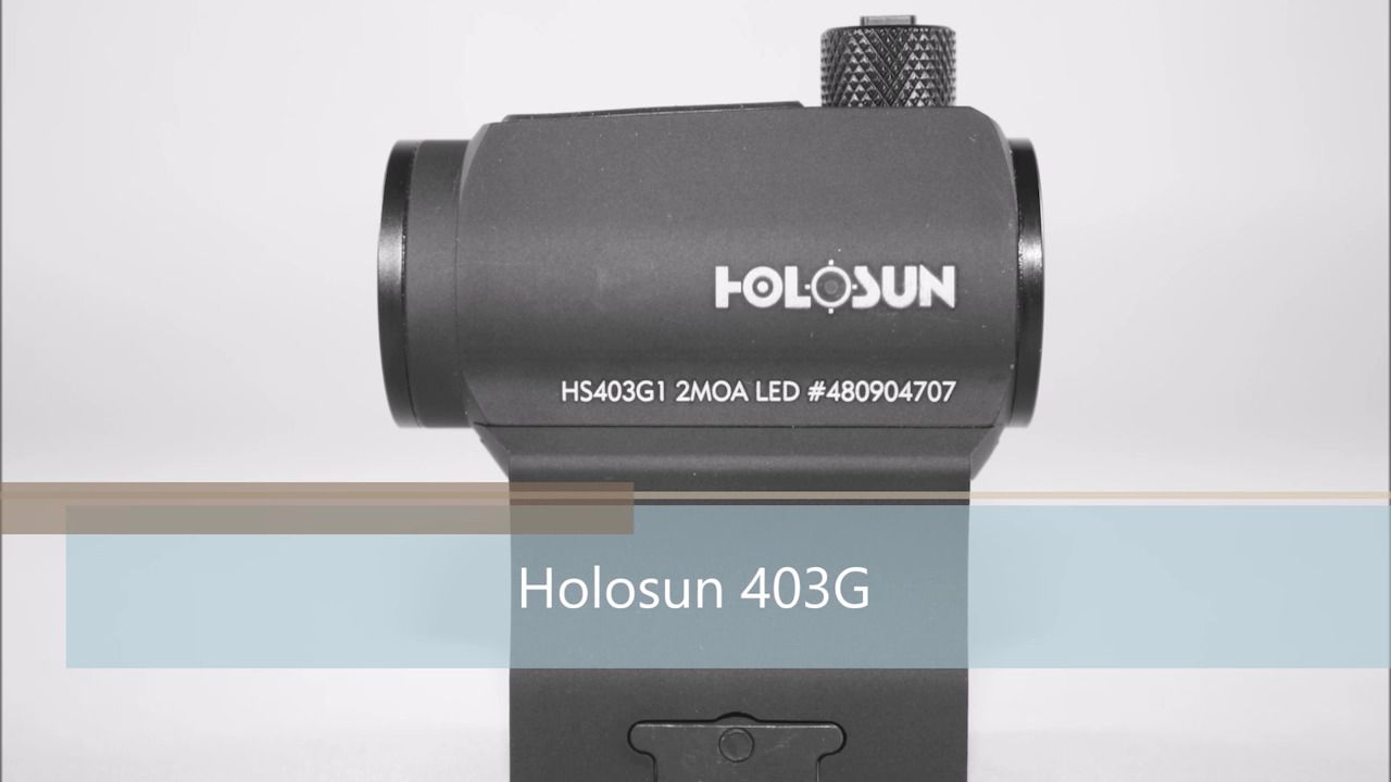 opplanet holosun 403g product video