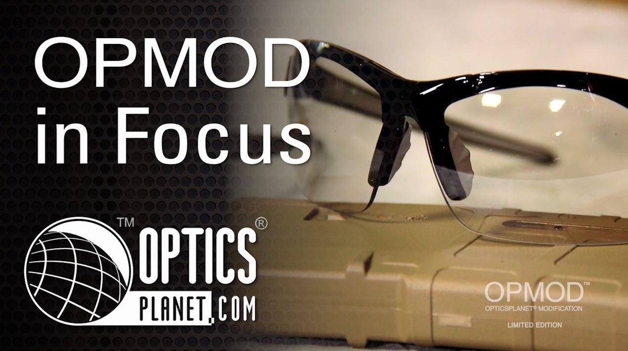 opplanet opmod edge shooting glasses opmod in focus opticsplanet video