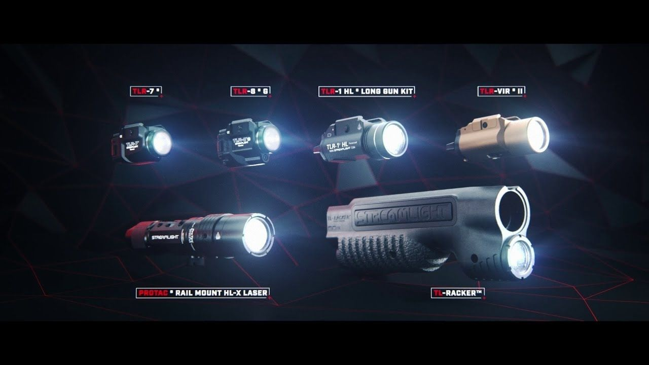 opplanet streamlight weapon mounted lights series video