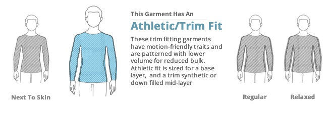 Mens Tops Clothing Fit: Athletic Fit