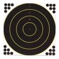 Birchwood Casey Shoot&C Targets 17.25 Inch Bullseye 5 Targets 120 Pasters 34185