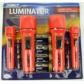 Dorcy 2-2AA / 2-2D Flashlights w/ H.D. Batteries 41-3480