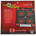 Hornady Lock-N-Load Paper Targets .5 Inch Grid Pattern 10 Per Pack 9963
