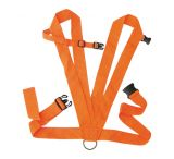 Allen Dual Harness Deer Drag Two Inch Web Construction Rope Included Blaze Orange 33A