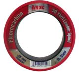 Ande Monofilament Fluorcarbon Pink 50Yd Fishing Line