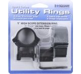 B-Square Sport Utility 1 inch Weaver Extension Rings - High 21056