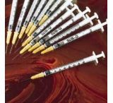 BD Single-Use Syringe/BD PrecisionGlide Needle Combinations, Sterile, BD Medical 309575 Bd Luer-Lok Tip, 0.1 Ml