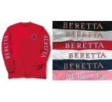Beretta T-shirt Double Logo Long Sleeve