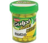 Berkley Gulp! Alive! Corn, Yellow, Yellow Bait
