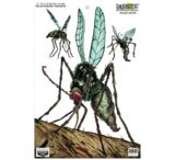 Birchwood Casey Darkotic Splattering Targets 12x18 Inches Blood Drive 50 Per Pack Shrink Wrapped 35677