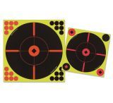 Birchwood Casey Shoot-N-C 5 12in. Round X Targets Plus 120 Pasters 34015