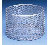 Black Machine Baskets, Aluminum A301/D Rectangular