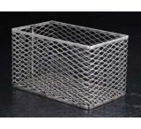 Black Machine Test Tube Baskets, Stainless Steel, Black Machine SS305/B Rectangular