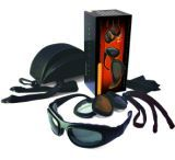 Bobster Sport & Street - II Interchangeable Bifocal RX Prescription Lenses Black Frame Convertible Goggles - Sunglasses