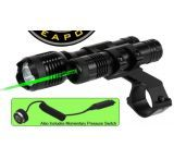BSA Optics 532nm Tactical Weapon Green Laser Sight w/ 160 Lumen Flashlight