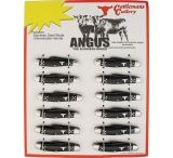 Cattleman'S Cutlery Angus 12- Piece Knives Display Board