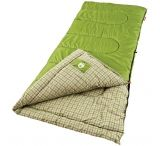Coleman Outdoor Rectangular Flannel Sleeping Bag