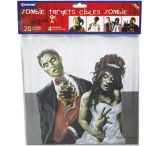Crosman Zombie Targets 9.75 X 9 Inch Targets With 5 Each Of 4 Different Zombie Designs For A Total Of 20 Targets Per Package CPVT5
