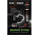 Dead Deer DR4583 Snake Eyes Sight Set Tritium Front/Rear Glock Green/Orange
