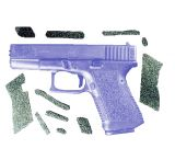 Decal Grip Enhancer For Glock 20 w/ Finger Grooves G20FG