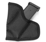 DeSantis Mag-Packer Mag Pouch, Ambidextrous, Black - 10mm/.45 Cal Single Stack Mags - M38BJLLZ0