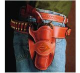 DeSantis Right Hand Black Desperado Holster 088BC54Z0 - COLT SAA 4 3/4in.