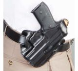 DeSantis Right Hand Black Leather Lined I.C.E. II Holster 011BAN6Z0 - SIG P239 DAK
