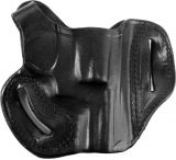 DeSantis Right Hand Black Thumb Break Mini Slide Holster 085BA02Z0 - S&W J 36, 37, 38, 40, 42, 49, 60, 317, 331, 332, 337, 340, 342, 360, 431PD, 432PD, 442, 638, 640, 640-1, 642, 649, M&P 340, 360 2in.-2in.
