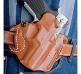 DeSantis Right Hand Tan Speed Scabbard Holster, 3 Slot 002TA80Z0 - BROWNING BDA 45