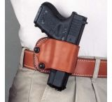 DeSantis Right Hand Tan Yaqui Paddle Holster 029TASAZ0 - FITS MOST SINGLE ACTION AUTOS