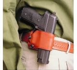 DeSantis Right Hand Tan Yaqui Slide Holster 023TASAZ0 - FITS MOST SINGLE ACTION AUTOS