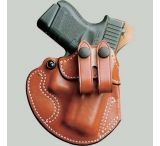 DeSantis Right Hand Tan Cozy Partner Holster 028TA02Z0 - S&W J 36, 37, 38, 40, 42, 49, 60, 317, 331, 332, 337, 340, 342, 360, 431PD, 432PD, 442, 638, 640, 640-1, 642, 649, M&P 340/360 2in.-2 1/4in.