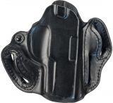 DeSantis 067BA88Z0 SOB Belt Holster Black Leather RH for Sig Sauer P229R