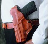 Desantis Viper Paddle Holster for Beretta Cougar 9mm & .40 Caliber - Left Hand, Tan - BERETTA COUGAR 9/40