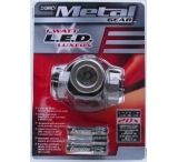 Dorcy 1 Watt- 3AAA Metal Gear LED Headlight w/ Batteries 41-2091