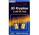 Dorcy 3D Krypton Bulb ( KPR103 ) - 2 Per Card 41-1661