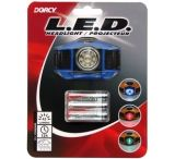 Dorcy 3 AAA LED Multifunctional Headlight w/ Batteries