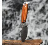 DPx Gear H.E.S.T. II Woodsman, Santo Wood Handle Fixed Blade Knife
