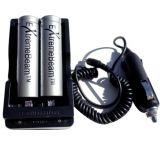 ExtremeBeam 18650 Charging Kit w/ 2 Batteries 2B
