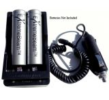 ExtremeBeam 18650 Charger with Car Adapter