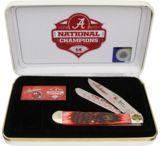Frost Alabama Crimson Tide 14 Folding Knife