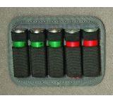 GPS Tactical 12-Gauge Shotgun Shell Holder- Holds 5 Shells