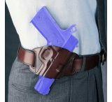 """Galco Quick Slide Left Hand Belt Holster for Colt 5"""" 1911"""