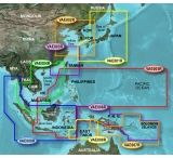 Garmin On The Water GPS Cartography BlueChart g2 Vision: Asia East Map