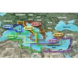 Garmin On The Water GPS Cartography BlueChart g2 Vision: Mediterranean Regular Map