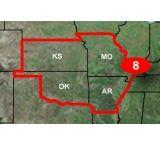 Garmin Topo U.S. 24K Central Plains Map, microSD/SD card